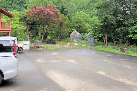 札幌市南区のペット火葬場の駐車場
